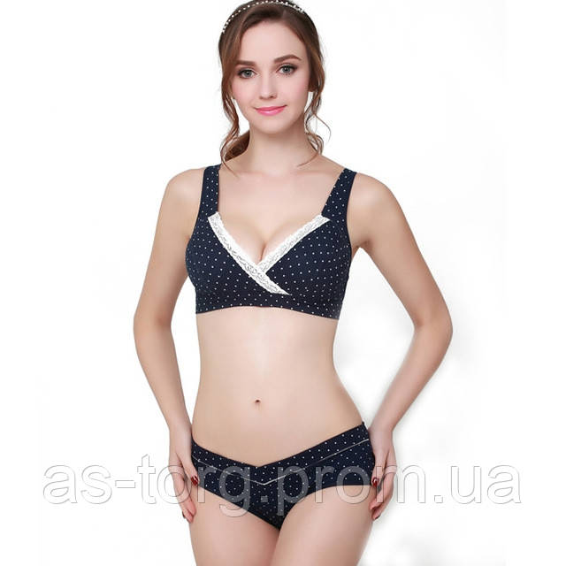 Комплект белья для беременных и кормящих мам, удобное белье для кормления -  Интернет-магазин 000c12edaf6