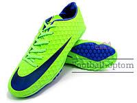 Сороконожки (многошиповки) Nike Mercurial Victory (0414) зеленые