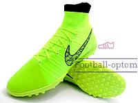 Сороконожки (многошиповки) Nike Elastico Superfly ProXimo (0338) салатовые