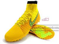 Сороконожки (многошиповки) Nike Elastico Superfly ProXimo (0337) желтые