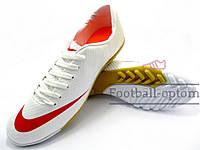 Сороконожки Nike Mercurial Victory (0299) белые