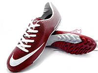 Сороконожки Nike Mercurial Victory (0298) красные