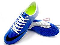 Сороконожки Nike Mercurial Victory (0297) синие