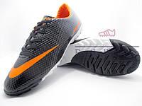 Сороконожки (многошиповки) Nike Mercurial Victory (0265) черные