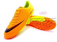 Сороконожки (многошиповки) Nike Mercurial Victory (0267) оранжевые