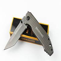 Складной нож Browning 220 мм, клинок из нержавеющей стали,57 HRC;