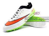 Сороконожки (многошиповки) Nike Mercurial (0487) зеленые