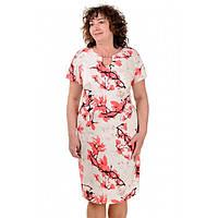 Женское платье летнее Софи лен батал, фото 1