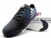 Сороконожки (многошиповки) Adidas X 16.3 (0541) черные