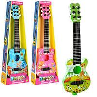 Гитара 890-B9 (72шт) струны 6шт, 45см, медиатор, 3 вида, кор-ке, 16,5-50-5,5см