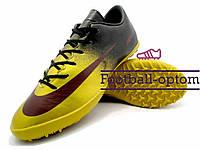 Сороконожки (многошиповки) Nike Mercurial (0548) черные