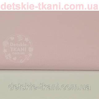 Однотонная польская бязь светло-розовая (№30а).