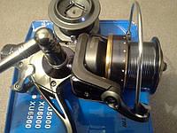 Катушка рыболовная карповая с байтранером GIN-TAI XU 6000 9+1 bb