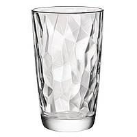 Стакан для напитков 470 мл. высокий, стеклянный Diamond, Bormioli Rocco