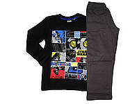 Пижама трикотажная для мальчика, размер 98/104, Lupilu, арт. 324