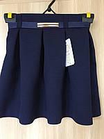 Школьная юбка для девочек 134,140,146,152 роста Тюльпан