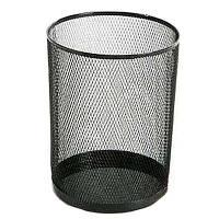 Корзина для мусора Ажур черная