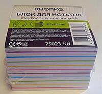 Блок бумаги для записей полосатая неклеен. 85*85 мм 775023-KN 73251 Альянс Орбита Украина