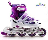 Ролики Superpower Violet 29-33 34-37 38-42 PU
