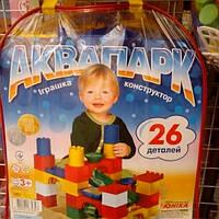 Детский конструктор Аквапарк Юника на 26дет.