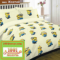 Подростковое постельное бельё Viluta (Вилюта) ранфорс, арт 9861 Жёлтый