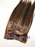 Волосы с заколками Clip EX05: цвет 8H124