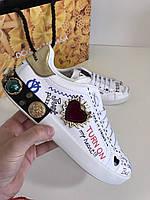 Креативные женские кроссовки DOLCE & GABBANA