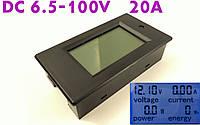 Ваттметр постоянного тока PZEM-031 (6.5-260В;20А)