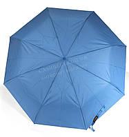 Женский симпатичный прочный зонтик автомат art. 5302 синий  (100199)