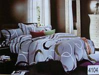 Сатиновое постельное белье евро ELWAY 4104
