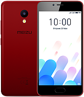 "Meizu M5C Red 2/16 Gb, 5"", MT6737, 3G, 4G"