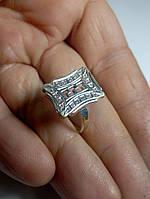Кольцо женское серебро 925 с цирконием 3,75гр   гр