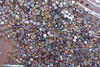 Стразы Swarovski для ногтей, 50 шт, цвет:розовый хамелион, №4 (1,5 мм)