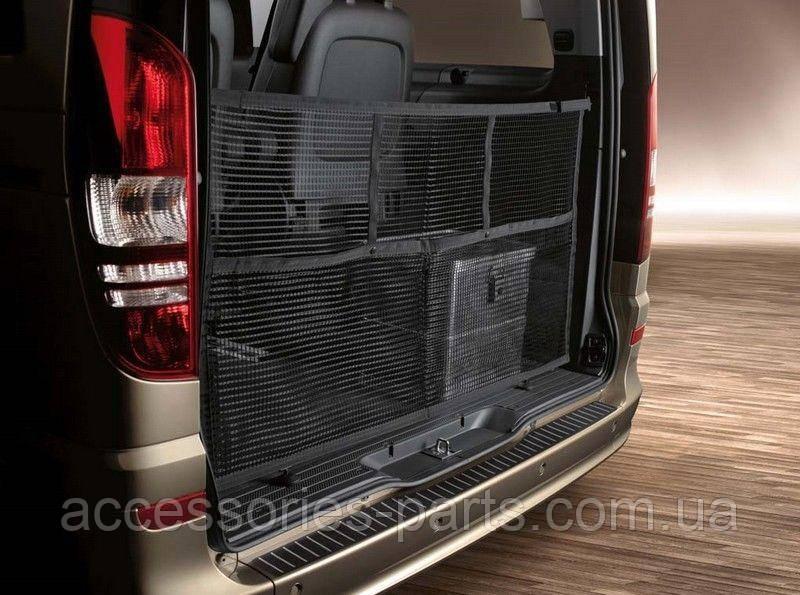 Сетка-органайзер багажного отделения Mercedes Viano (W639) Новая Оригинальная