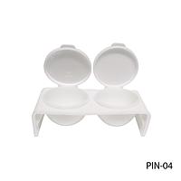 Двойная посуда с крышкой для жидкости (мономера)