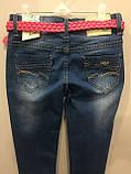Подростковые джинсы со стразами на девочку 146,158 см, фото 4