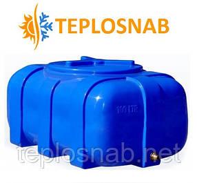 Емкость пластиковая квадратная двухслойная RKД 100 Овал (76х52х37) 100 литров