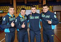 Олимпийские спортивные костюмы Bosco Sport  (Новая коллекция)  темная грудь голубая вышивка
