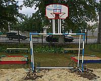 Ворота футбольные комбинированные