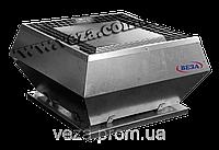 Вентилятор крышный радиальный малой высоты в шумоизолированном корпусе КРОМ-Ш-3,55