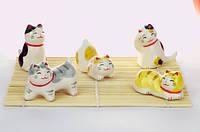 Манеки-неко «Счастливые котята», фото 1