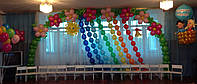 Выпуск 2017 детский сад с. Красиловка. Оформление воздушными шарами