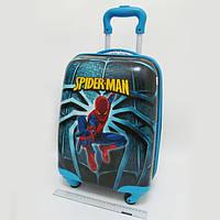 """Детский чемодан дорожный """"Josef Otten"""" Человек Паук, Spider Man на четырех колесах 520349"""