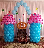 Выпуск 2017 детский сад ДЖЕРЕЛЬЦЕ. Оформление воздушными шарами