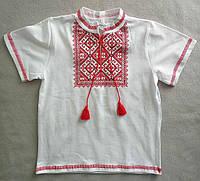 Детская вышиванка на мальчиков 104-158 Украина, оптом