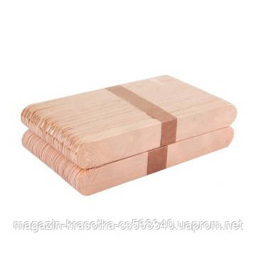 Шпатель деревянный , 50 шт/уп, 140*15 мм