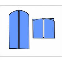 Чехол для одежды флизелиновый