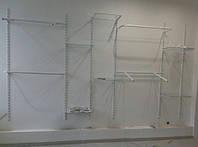 Стойка пристенная перфорированная 1.2x2м НА НОЖКАХ