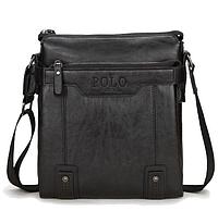 Кожаная мужская сумка-барсетка Polo Videng Есть 3 цвета!