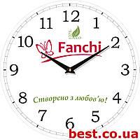 """Часы настенные с нанесением логотипа, символики """"Винтаж"""" (330х330 мм) [МДФ, Открытые]"""